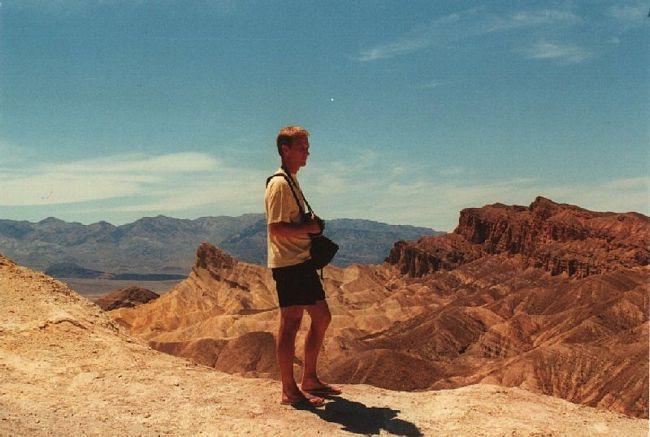 Death Valley Zabriskie Point 2000